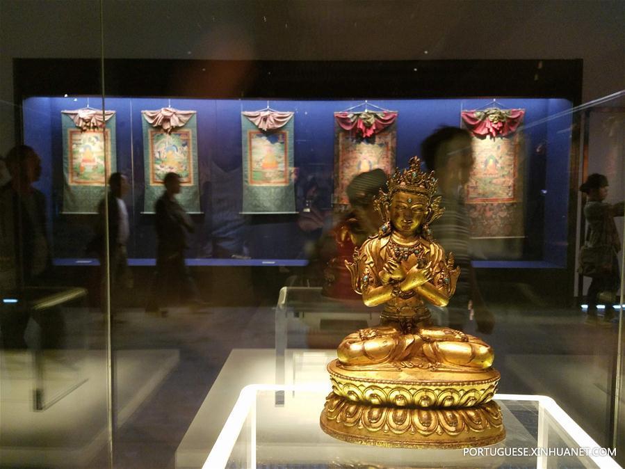 (图文互动)(4)四川甘孜州民族博物馆对外开放 上千件珍贵文物揭开神秘面纱