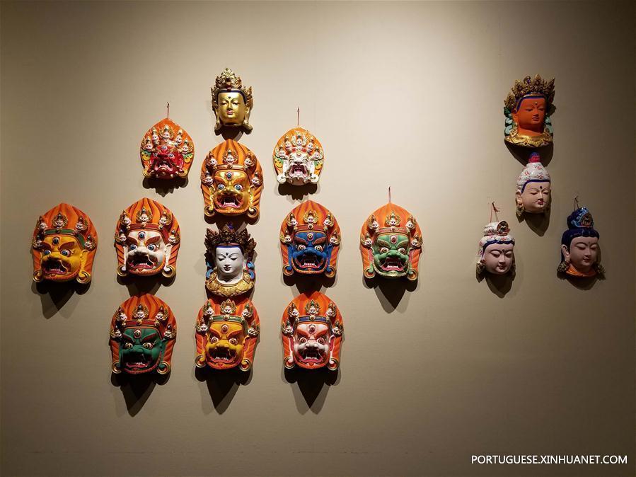 (图文互动)(2)四川甘孜州民族博物馆对外开放 上千件珍贵文物揭开神秘面纱