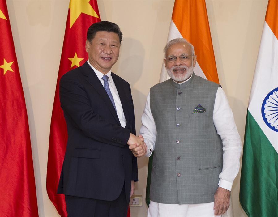 INDIA-GOA-CHINA-XI JINPING-MODI-MEETING