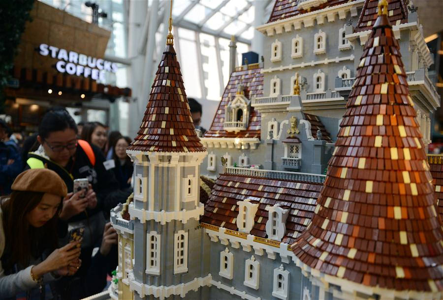 CHINA-HONG KONG-LEGO BUILDING BLOCK SHOW (CN)
