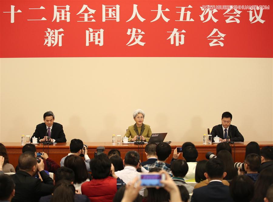 (TWO SESSIONS) CHINA-BEIJING-NPC-PRESS CONFERENCE (CN)
