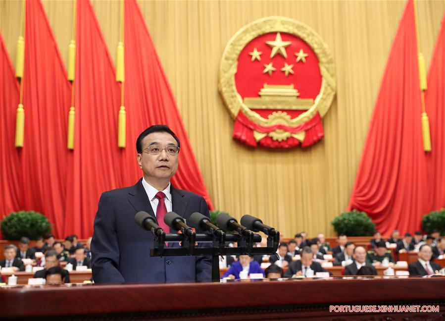 (TWO SESSIONS)CHINA-BEIJING-LI KEQIANG-NPC-OPENING (CN)