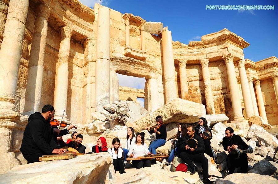 SYRIA-PALMYRA-SYRIAN ARMY-CAPTURING