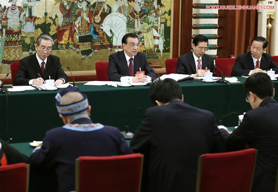 (TWO SESSIONS)CHINA-BEIJING-LI KEQIANG-NPC-PANEL DISCUSSION (CN)