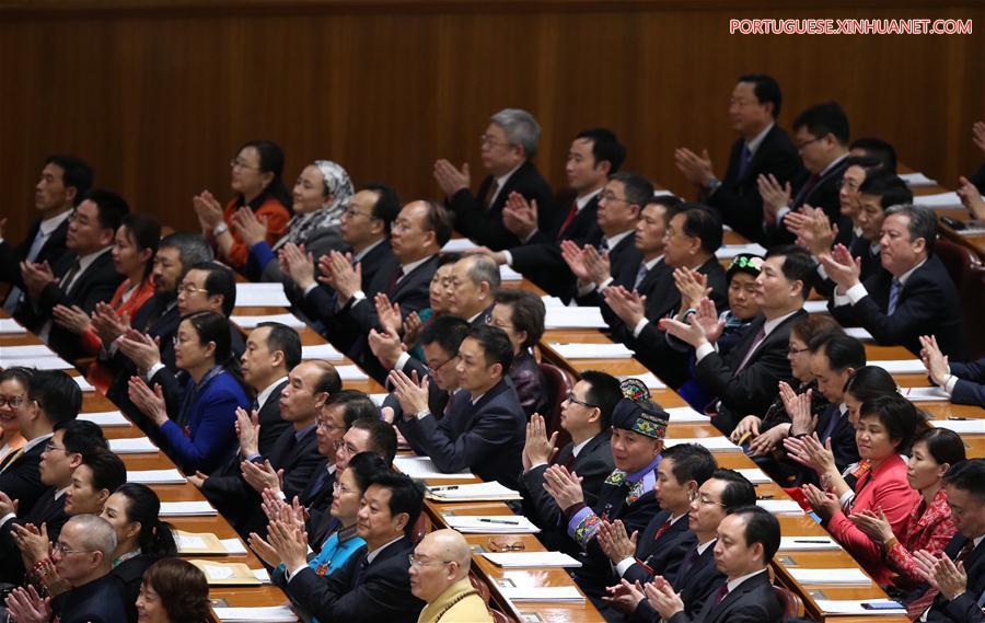 (TWO SESSIONS)CHINA-BEIJING-NPC-SECOND PLENARY MEETING (CN)