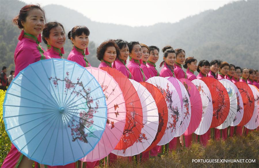 CHINA-NANCHANG-QIPAO SHOW (CN)