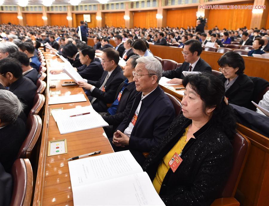 (TWO SESSIONS)CHINA-BEIJING-CPPCC-SECOND PLENARY MEETING (CN)