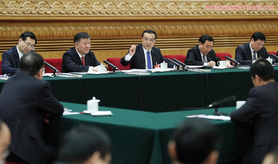 (TWO SESSIONS)CHINA-BEIJING-LI KEQIANG-NPC-PANEL DISCUSSION (CN)