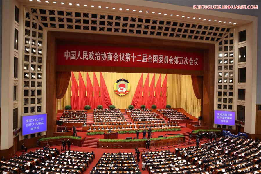 (TWO SESSIONS)CHINA-BEIJING-CPPCC-THIRD PLENARY MEETING (CN)