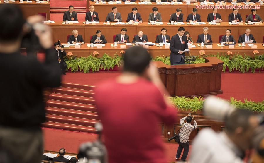 (TWO SESSIONS)CHINA-BEIJING-CPPCC-YAO MING(CN)