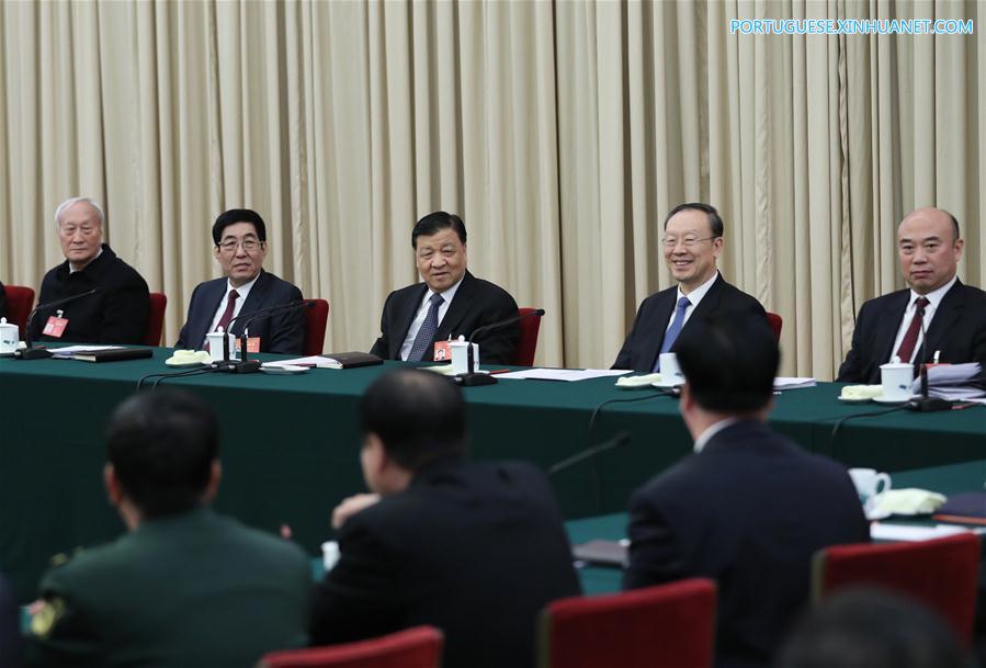 (TWO SESSIONS)CHINA-BEIJING-LIU YUNSHAN-NPC-PANEL DISCUSSION (CN)