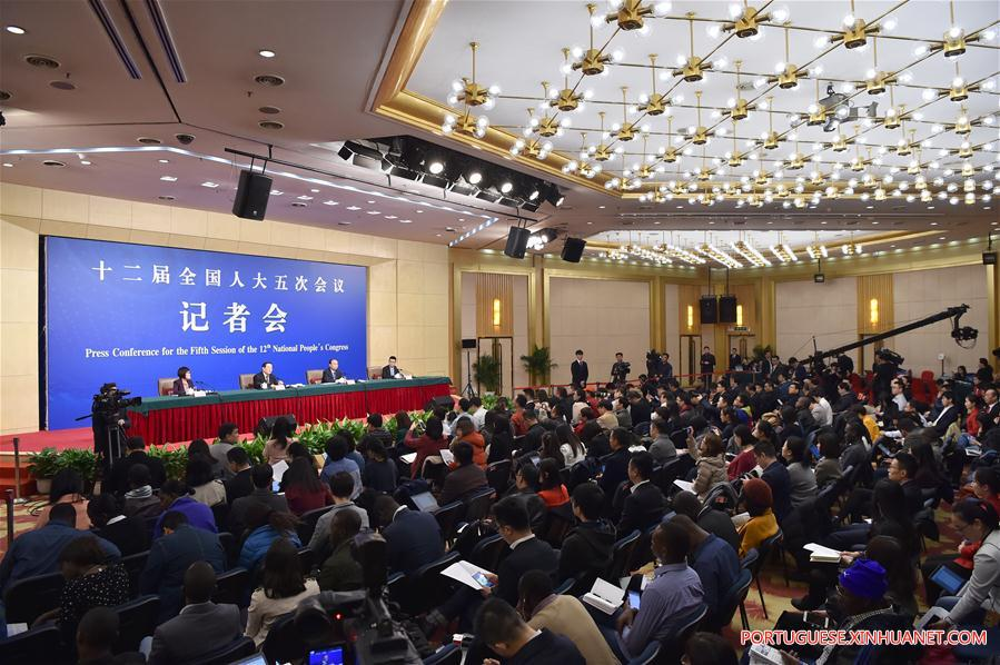 (TWO SESSIONS)CHINA-NPC-PRESS CONFERENCE-INNOVATION (CN)
