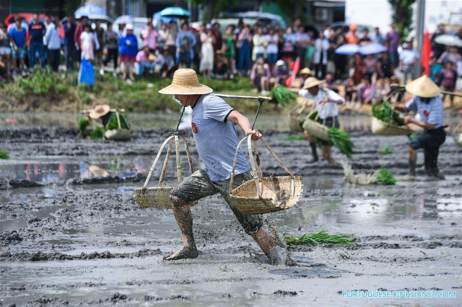 CHINA-ZHEJIANG-HUZHOU-FARMERS-SPORTS (CN)