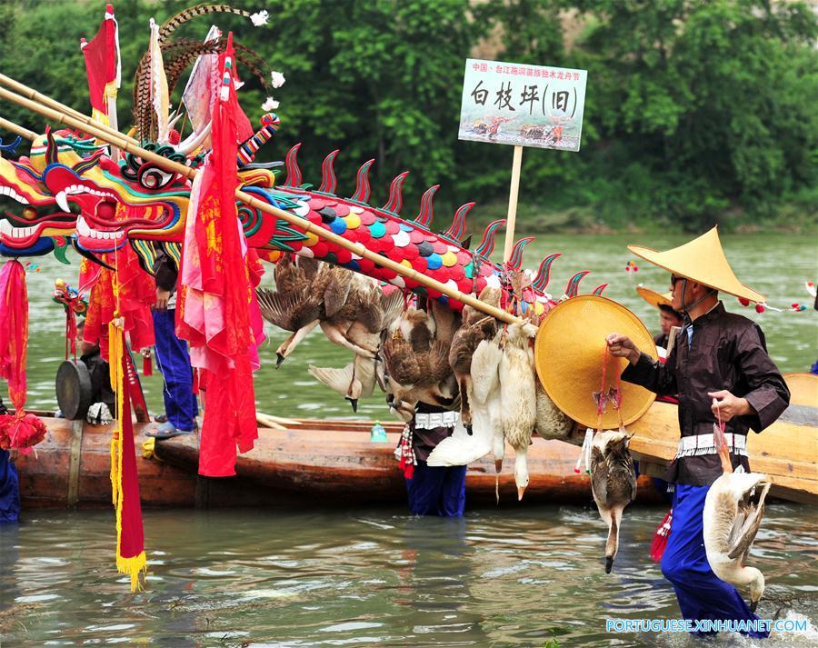 CHINA-GUIZHOU-TAIJIANG-DRAGON CANOE FESTIVAL (CN)