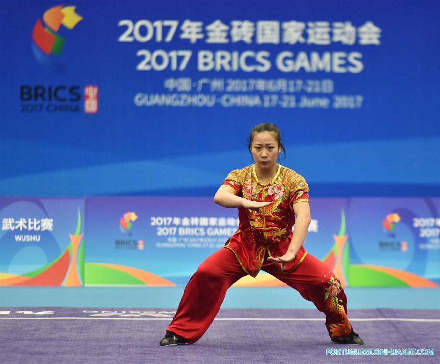 (SP)CHINA-GUANGZHOU-2017 BRICS GAMES-WUSHU