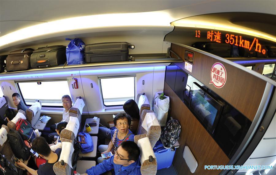 #CHINA-HIGH-SPEED TRAIN-FUXING (CN)