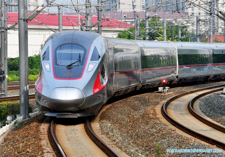 CHINA-TIANJIN-FUXING BULLET TRAINS-OPERATION (CN)