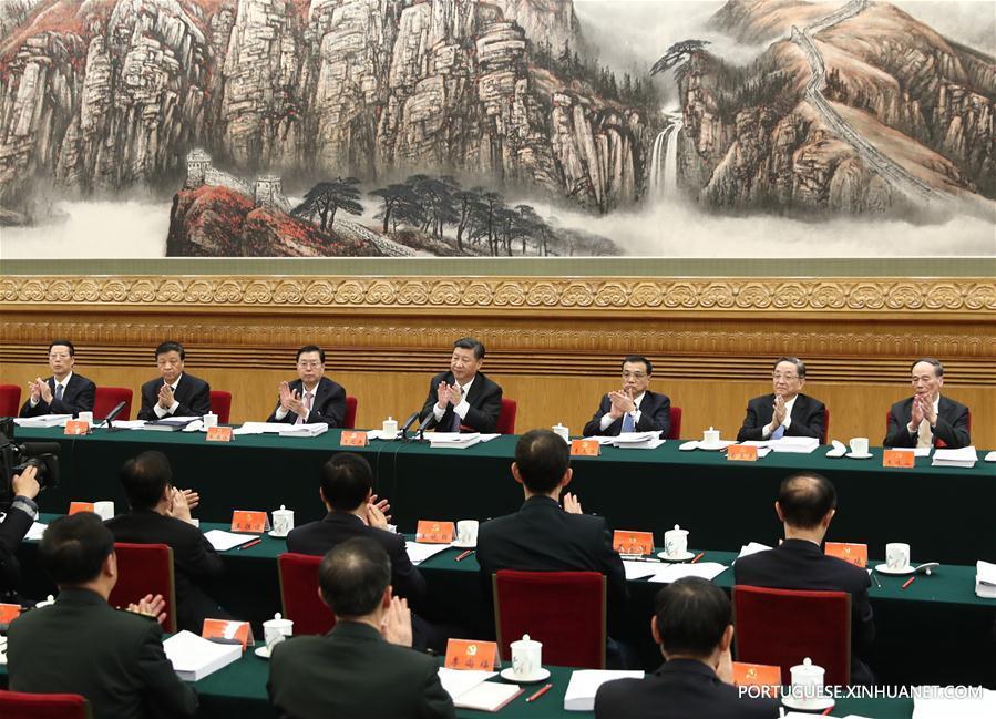 (CPC)CHINA-BEIJING-CPC NATIONAL CONGRESS-PRESIDIUM MEETING (CN)
