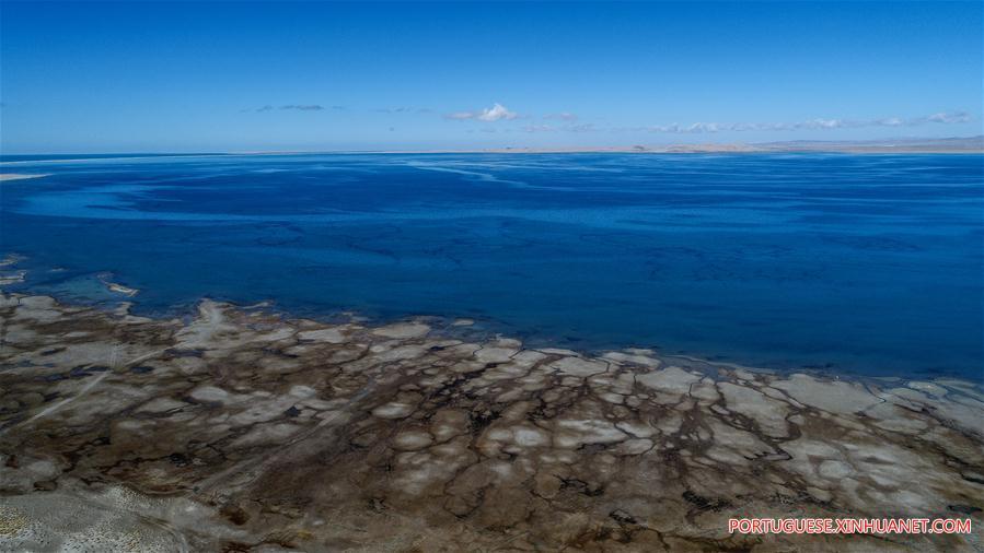 Resultado de imagem para Lago Qinghai