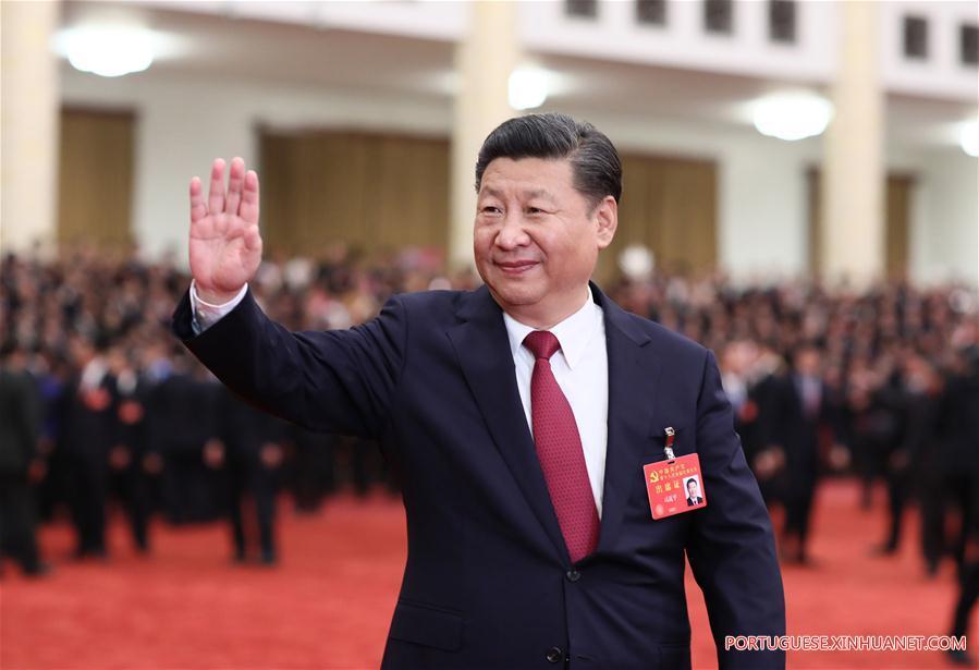 CHINA-BEIJING-XI JINPING-CPC CONGRESS-MEETING (CN)