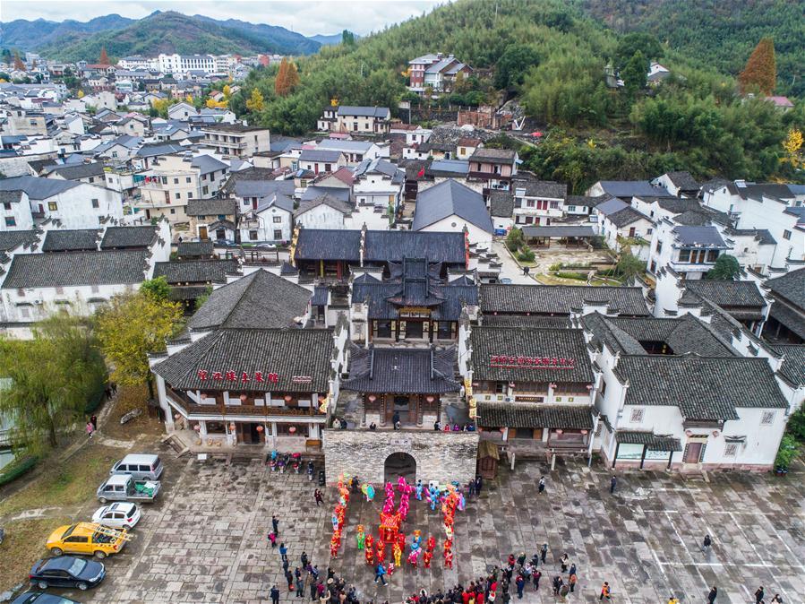 CHINA-ZHEJIANG-TRADITIONAL FOLK CULTURE (CN)
