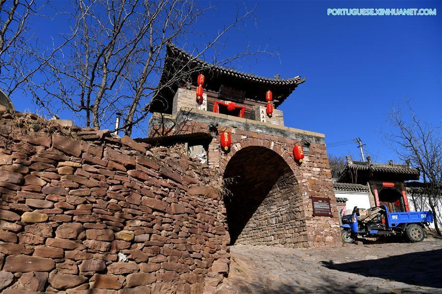 CHINA-SHANXI-ANCIENT VILLAGE (CN)