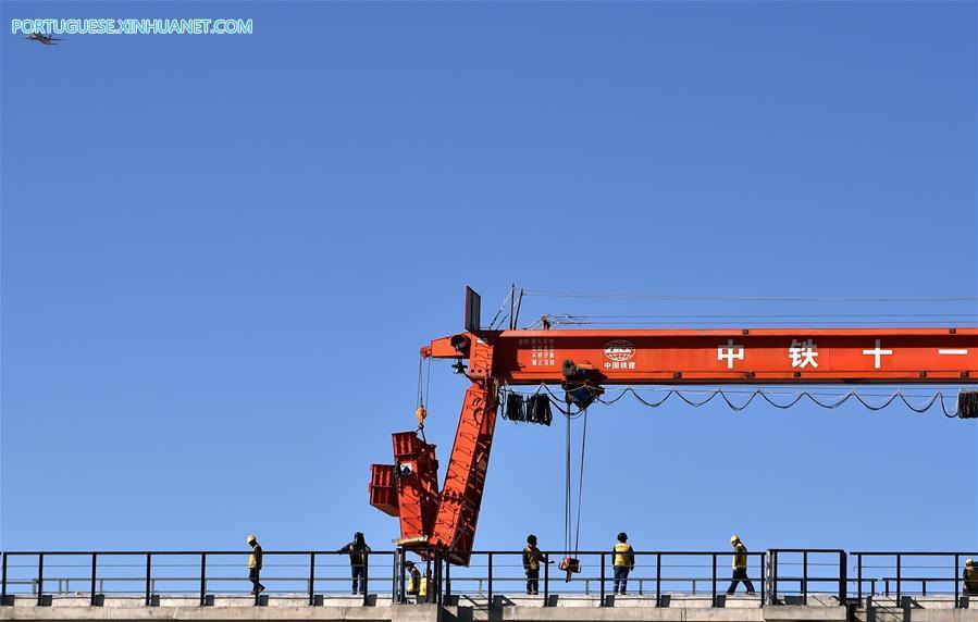 CHINA-TIBET-SICHUAN-TIBET RAILWAY-CONSTRUCTION (CN)