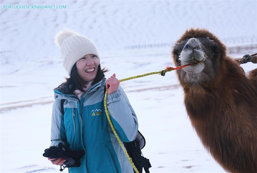 #CHINA-GANSU-DUNHUANG-SCENERY (CN)