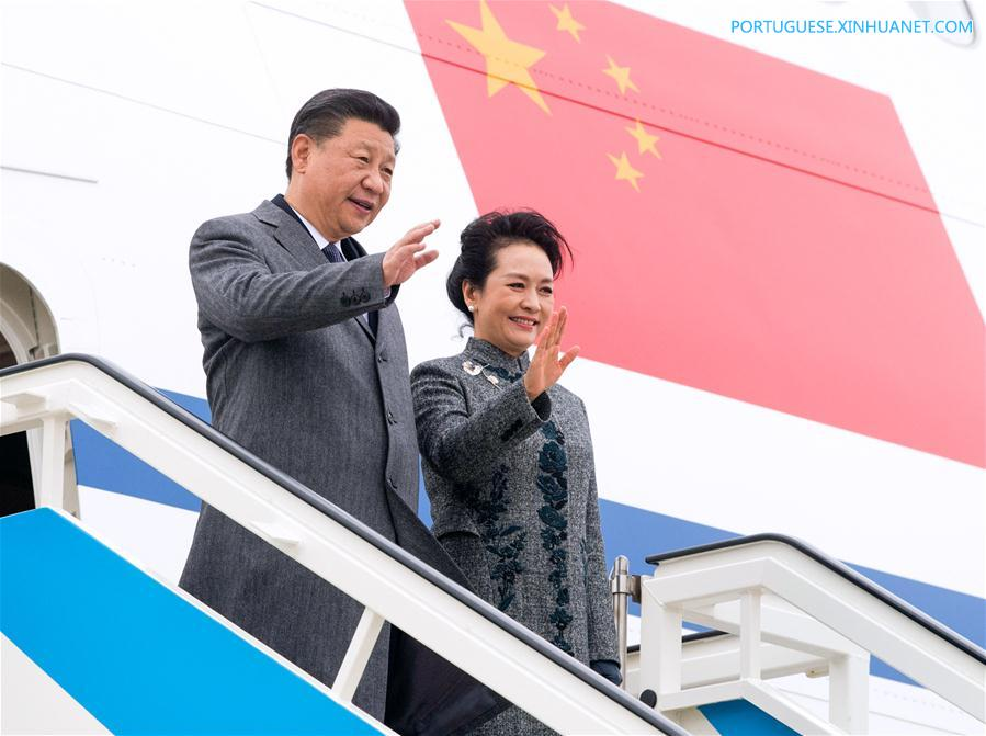 PORTUGAL-LISBON-CHINA-XI JINPING-ARRIVAL