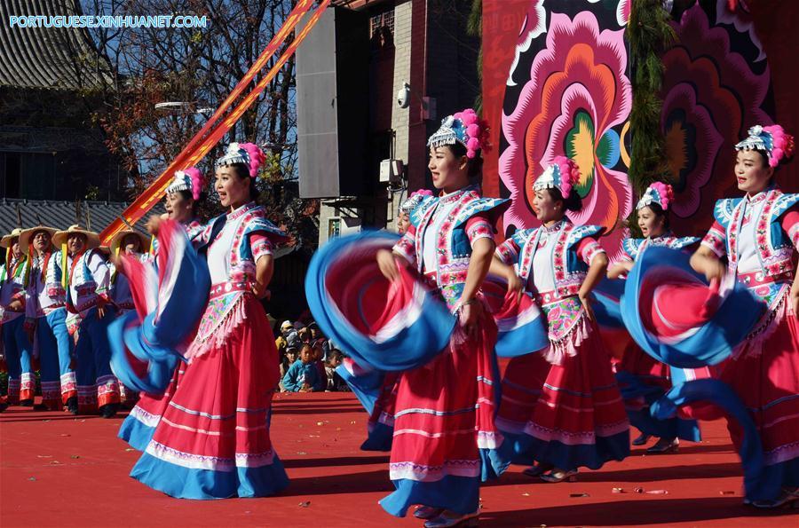 CHINA-YUNNAN-YI ETHNIC GROUP-NEW YEAR (CN)