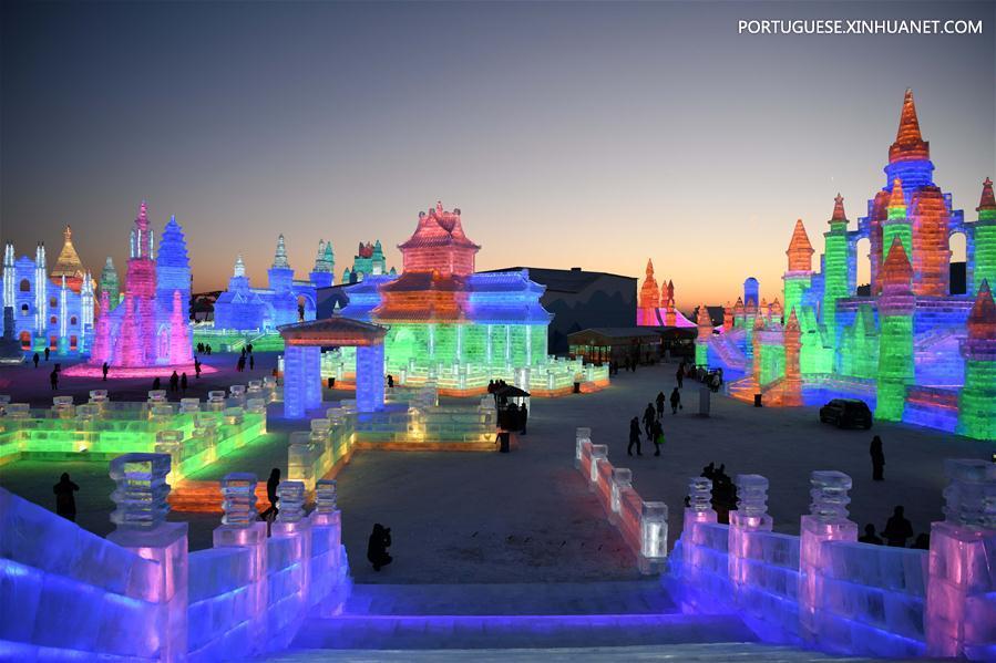 CHINA-HARBIN-ICE-SNOW WORLD-OPEN (CN)