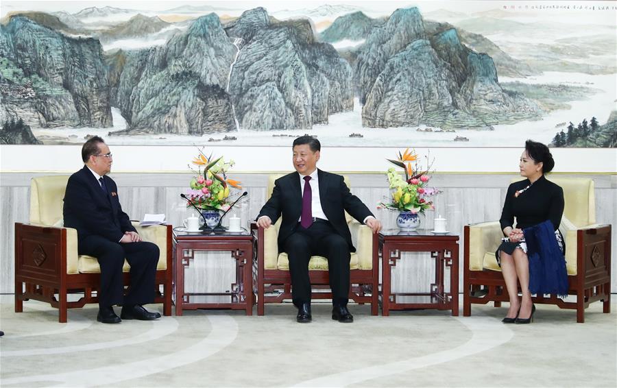 CHINA-BEIJING-XI JINPING-DPRK-ART TROUPE (CN)