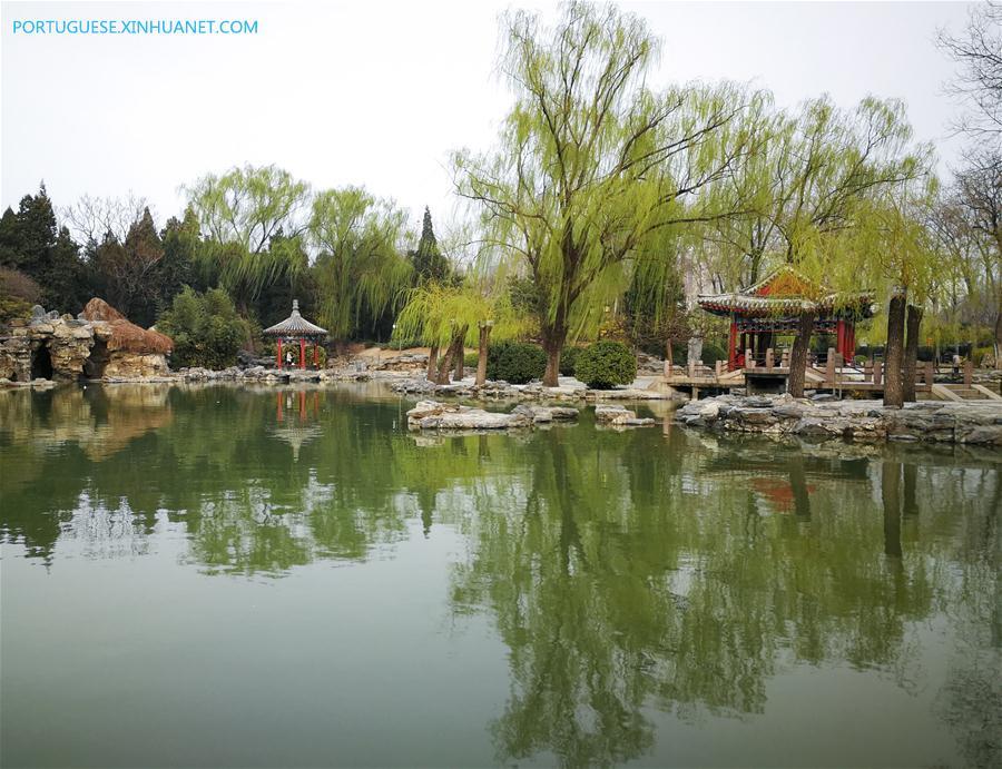 (BeijingCandid) CHINA-BEIJING-SPRING (CN)