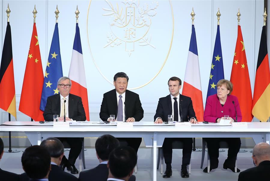 FRANCE-PARIS-CHINA-XI JINPING-FORUM-SPEECH