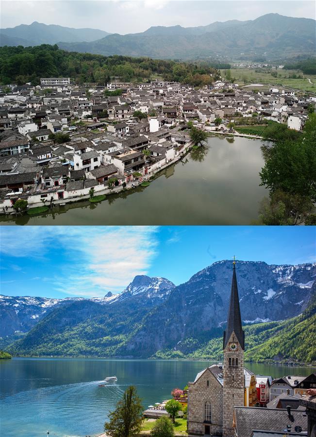 AUSTRIA-CHINA-VILLAGE-TOURISM
