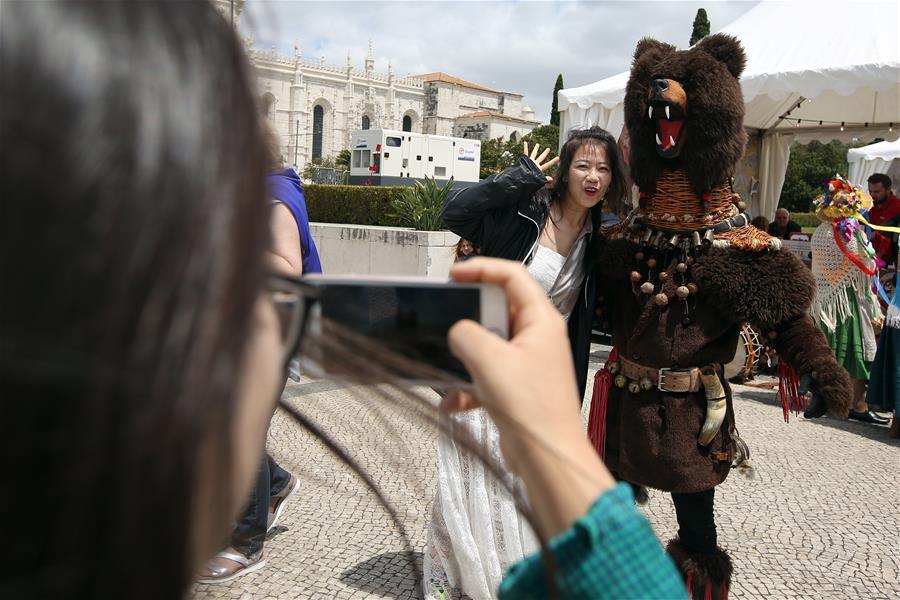 PORTUGAL-LISBON-IBERIAN MASK-FESTIVAL