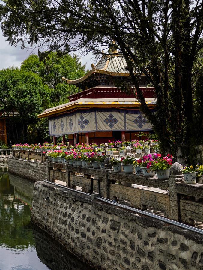 CHINA-LHASA-NORBU LINGKA-SCENERY(CN)