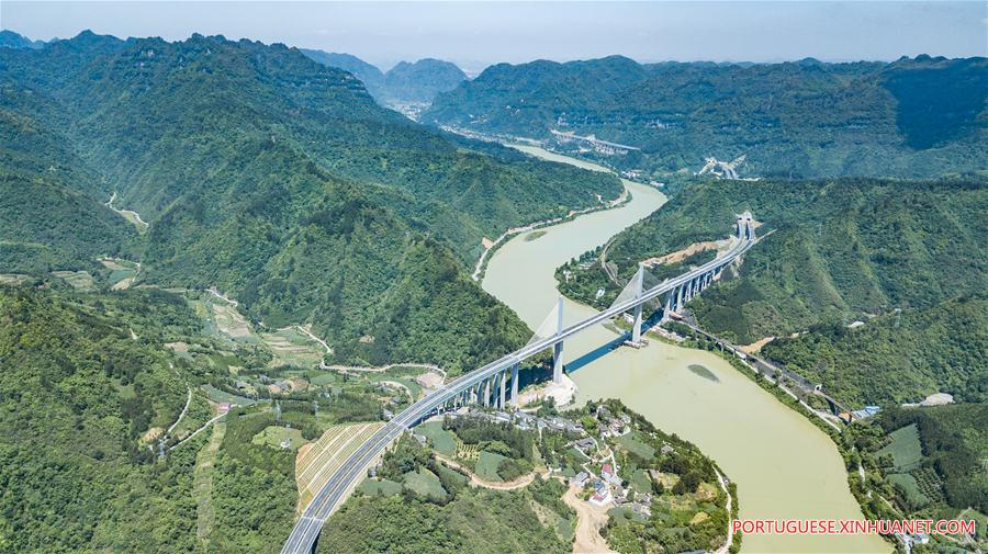 CHINA-GUIZHOU-TONGREN-HUAIHUA HIGHWAY (CN)