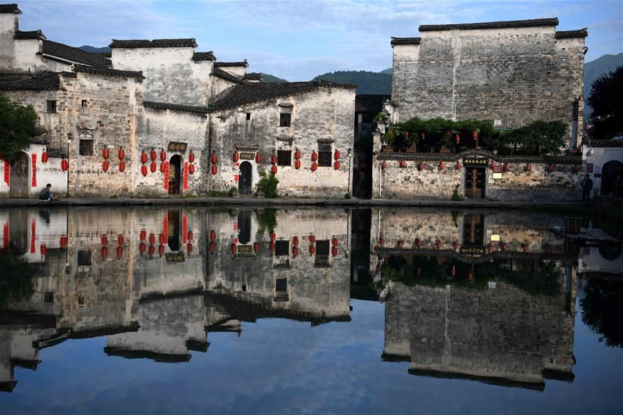 CHINA-ANHUI-HONGCUN VILLAGE-MORNING (CN)