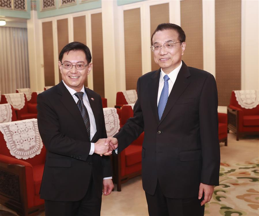 CHINA-BEIJING-LI KEQIANG-SINGAPORE-HENG SWEE KEAT-MEETING (CN)