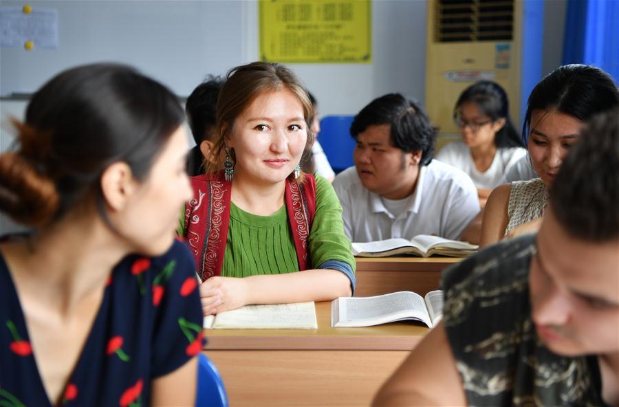 CHINA-HAINAN-HAIKOU-KYRGYZSTAN GIRL (CN)
