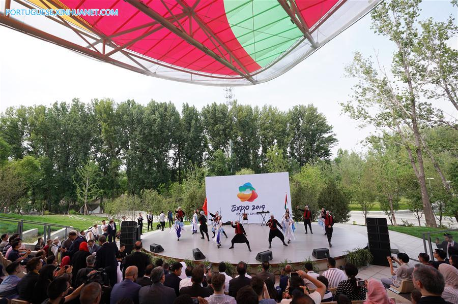 CHINA-BEIJING-HORTICULTURAL EXPO-PALESTINE DAY (CN)