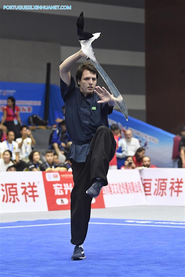 (SP)CHINA-EMEISHAN-KUNGFU-WORLD CHAMPIONSHIPS(CN)