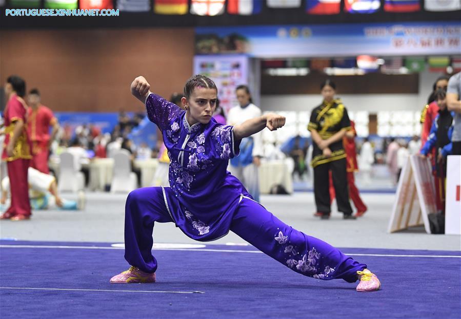 (SP)CHINA-EMEISHAN-KUNGFU-WORLD CHAMPIONSHIPS(CN)