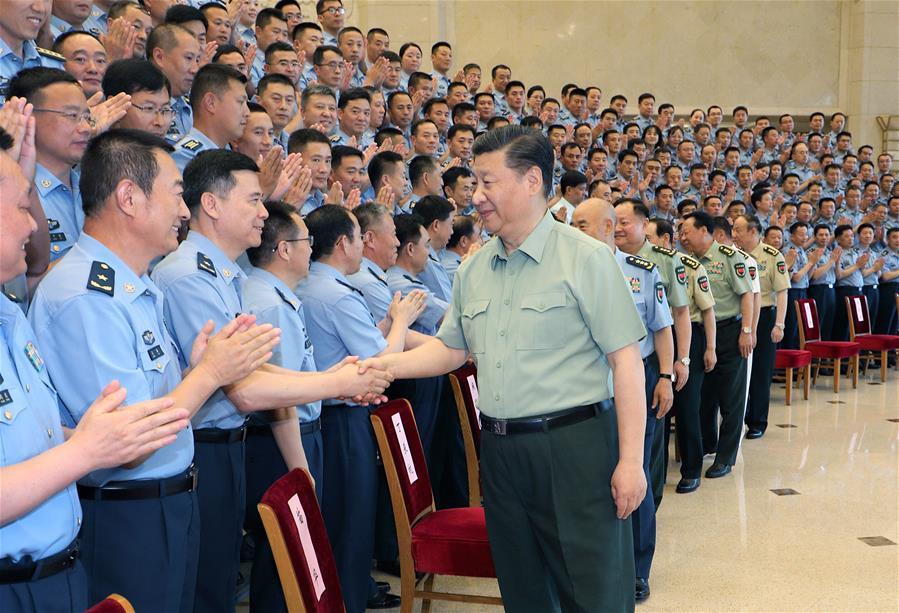 CHINA-BEIJING-XI JINPING-PLA AIR FORCE-PARTY CONGRESS (CN)