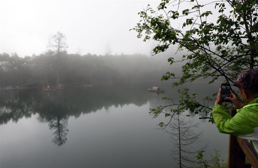 CHINA-GANSU-DANGCHANG-GUAN'EGOU-TOURISM(CN)