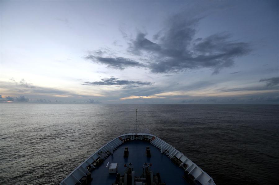 PACIFIC OCEAN-CHINA-SPACECRAFT TRACKING SHIP-YUANWANG 3-EQUATOR