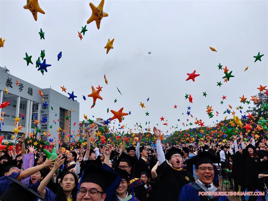CHINA-HIGHER EDUCATION-GRADUATION (CN)