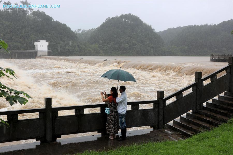 #CHINA-ANHUI-HUANGSHAN-FLOOD (CN)