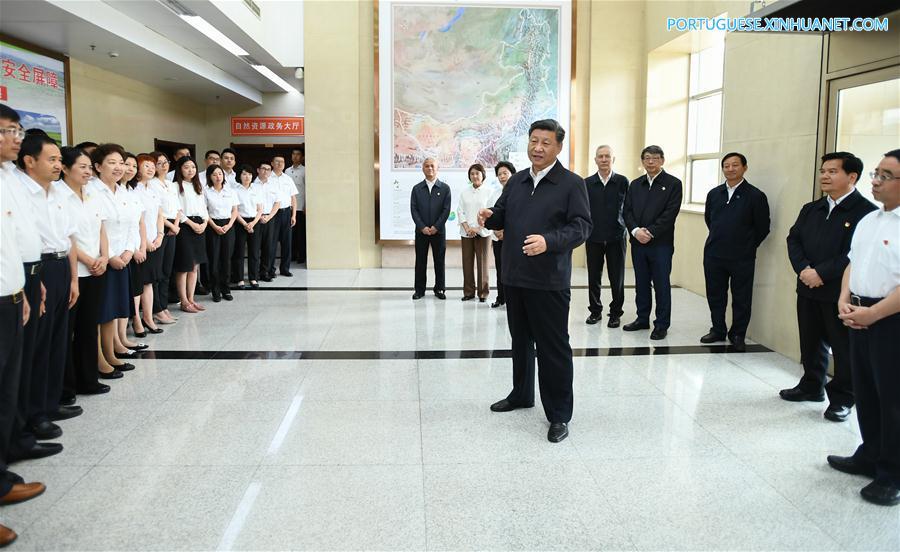CHINA-INNER MONGOLIA-XI JINPING-INSPECTION (CN)